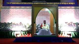 MTQ INTERNATIONAL 2013 ( AKHMAD AL KHALIDI,MAROKO ) JUARA 1 TILAWAH QURAN