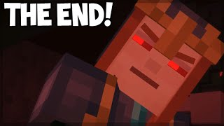 Minecraft Story Mode - Episode 7 - THE REDSTONE HEART! (THE END) Access Denied