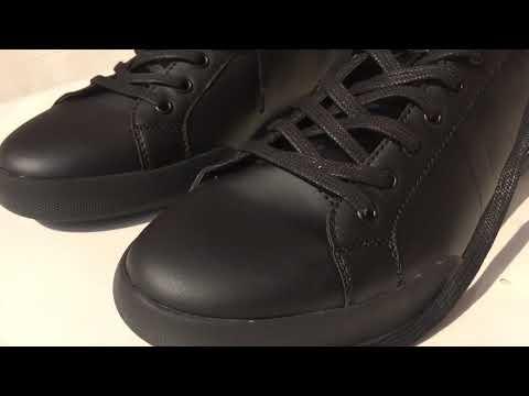 Zara Monochrome  Sneakers (BLACK)