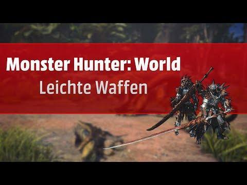 Doppelklingen? Langschwert? Bogengewehr? Leichte Waffen in Monster Hunter: World