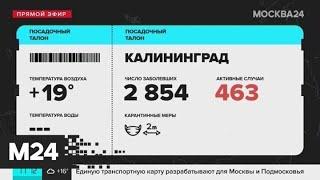 Москвичам рассказали, как добраться до Калининграда - Москва 24