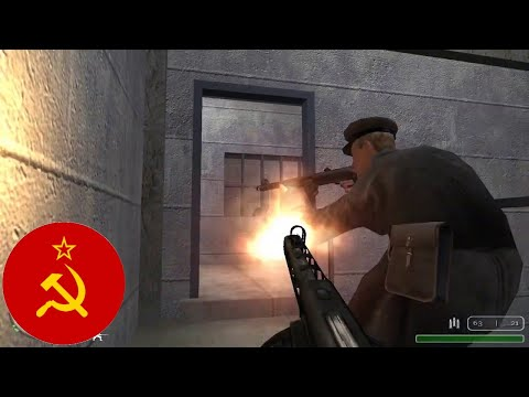 Call Of Duty United Offensive - Singleplayer Map - Trench 86, USSR - 12/11/1942