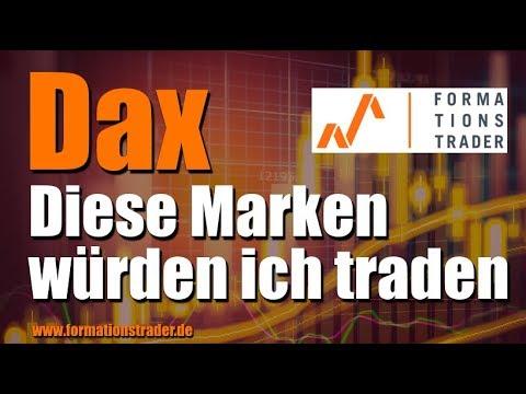 Dax: Diese Marken würden ich traden