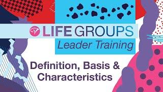 Life Group Leader Training: November 2020