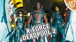 Who Is the Hidden X-Force Member in Deadpool 2? (Nerdist News w/ Jessica Chobot)