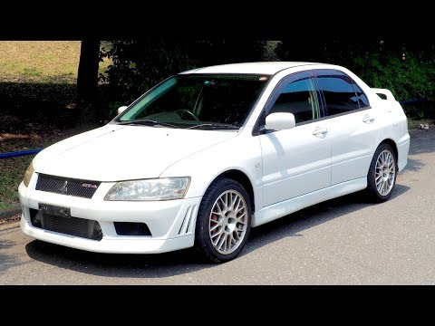 2002 Mitsubishi Lancer Evolution 7 GT-A (Canada Import) Japan Auction Purchase Review