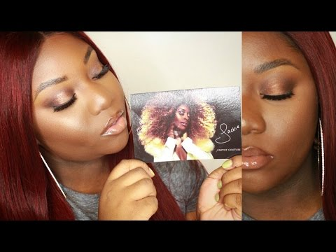 """Jackie Aina """"La Bronze"""" Inspired Bronze Look 