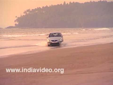 Drive-in-beach, muzhappilangad, kannur, cannanore, Kerala, India, beaches, longest beach
