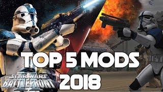 Top 5 Star Wars Battlefront 2 (2005) Mods of 2018
