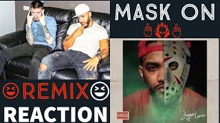 Joyner Lucas - Mask off remix (mask on) REACTION