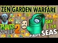 PVZ 2: ZEN GARDEN WARFARE! Pirate Seas Day 7 - 14 (Duddy Claus has a Cold Face Cam)