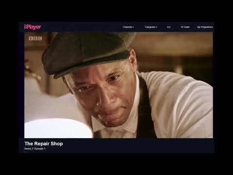 'The Repair Shop' BBC violin repair with John Dilworth