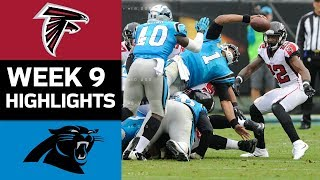 Falcons vs. Panthers | NFL Week 9 Game Highlights 2017 Video