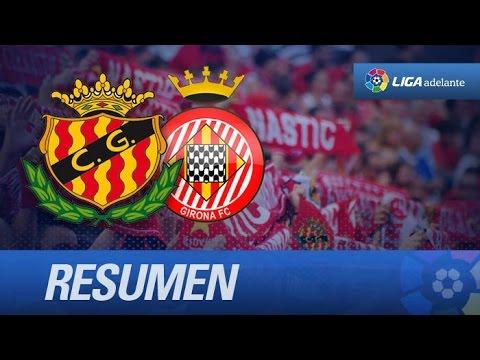 Resumen de Gimnàstic de Tarragona (1-0) Girona FC