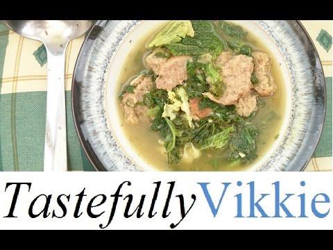 Slimming World Friendly Italian Kale Cheesegarlic Soup Maker Recipecarluccios