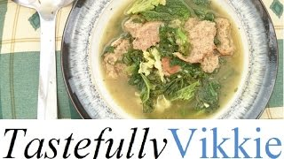 Slimming World Friendly Italian Kale Cheese&garlic Soup Maker Recipe/carluccios