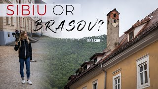 Sibiu or Brașov? Two AMAZING cities in TRANSILVANIA Romania