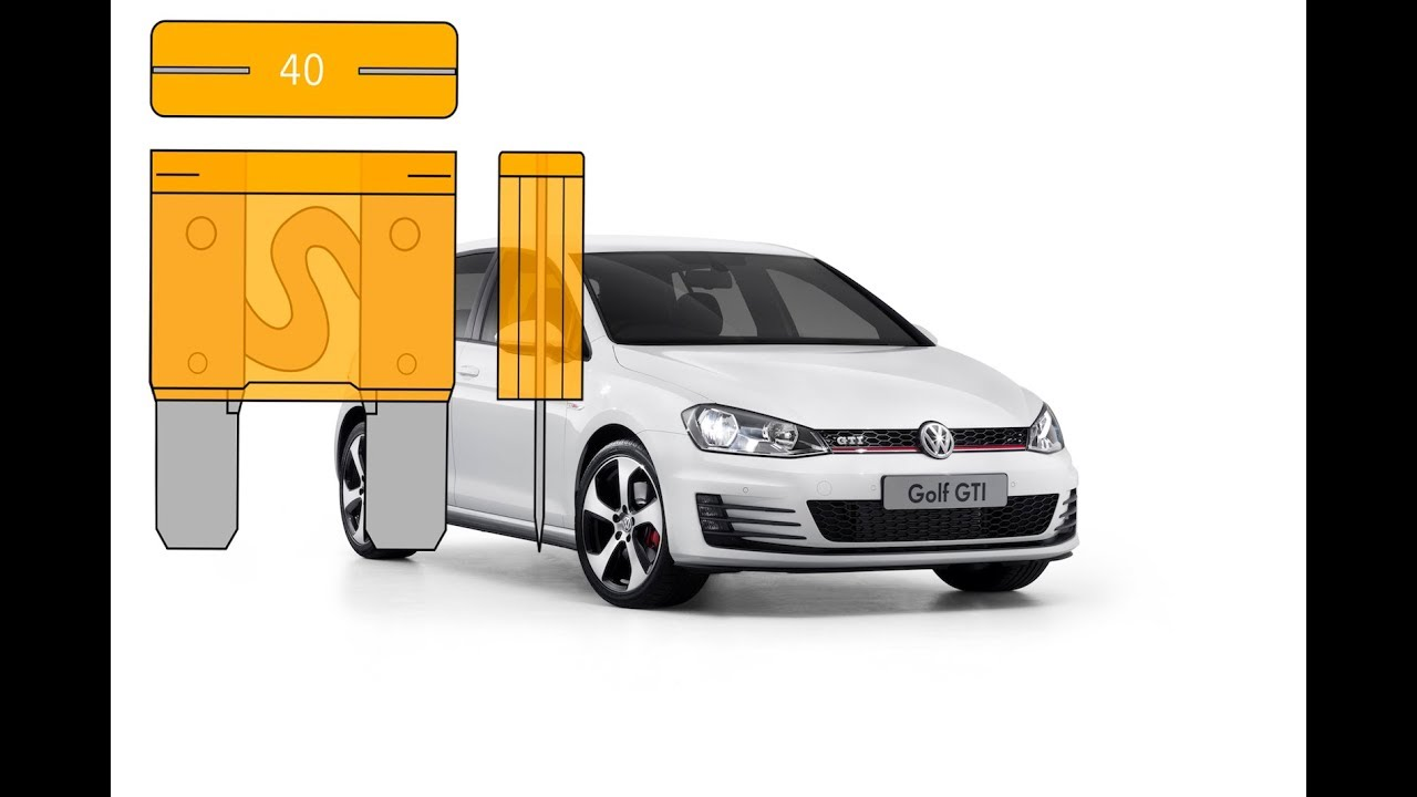 Fuse Box Location On A 2009 2013 Volkswagen Golf Youtube