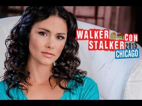 Melissa Ponzio   Walker Stalker Con Chicago 2015