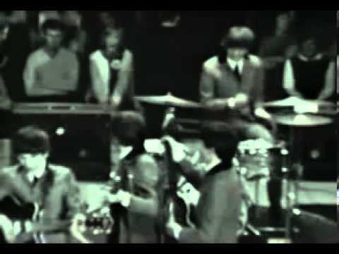 Beatles at the Washington Coliseum 2/11/64 - Clip