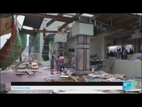 Ouragan Irma : reportage à Saint-Martin, ravagée