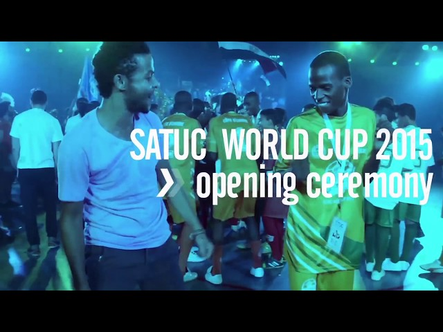 SATUC Opening Ceremony 2015, أفتتاح كأس العالم ساتوك - شيخه ال ثاني