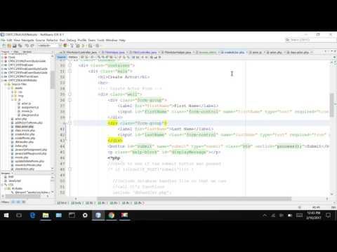 CMTC 296 AJAX Validate user input behind scenes 2/16