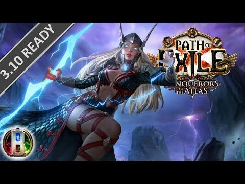 Path of Exile 3 9 - Storm Brand Build - Elementalist Witch
