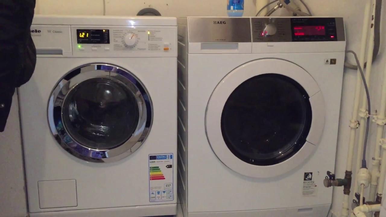 miele w classic ecoplus comfort wda201 wpm waschmaschine youtube. Black Bedroom Furniture Sets. Home Design Ideas
