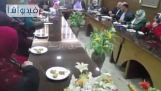بالفيديو لقاء محافظ شمال سيناء مع المجلس القومى للمرأة