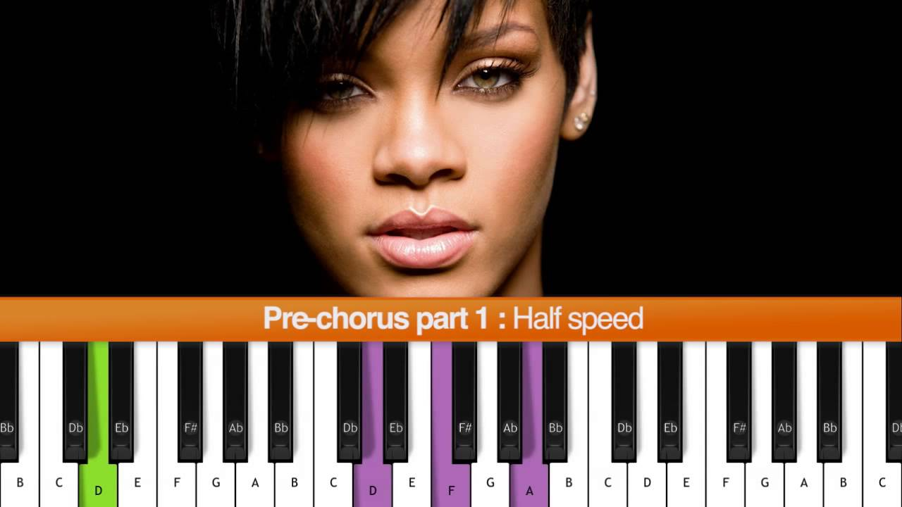 How To Play Stay Rihanna Ft Mikky Ekko Piano Tutorial Chords