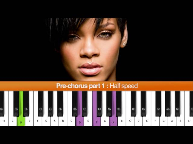 "Piano stay rihanna piano chords : How To Play ""Stay"" (Rihanna ft. Mikky Ekko) Piano Tutorial - YouTube"
