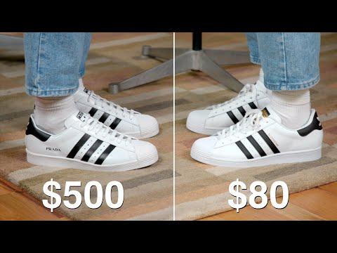$500 Prada adidas Superstar - Worth It?