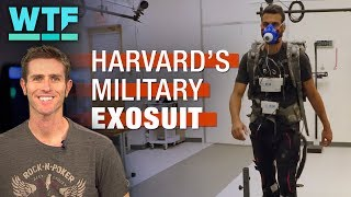 Military exosuit saves valuable energy for soldiers