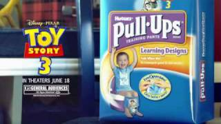 Pull-Ups® Toy Story 3 Commercial
