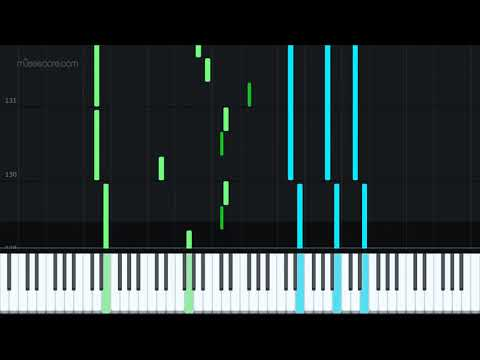 Neon Gravestones by twenty one pilots [Piano Tutorial + Sheet music] thumbnail