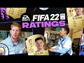 Zina is not faster than me!   FIFA22 Ratings!   KDB & FODEN