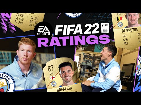ZINA IS NOT FASTER THAN ME!  |  FIFA22 RATINGS |  KDB AND FODEN