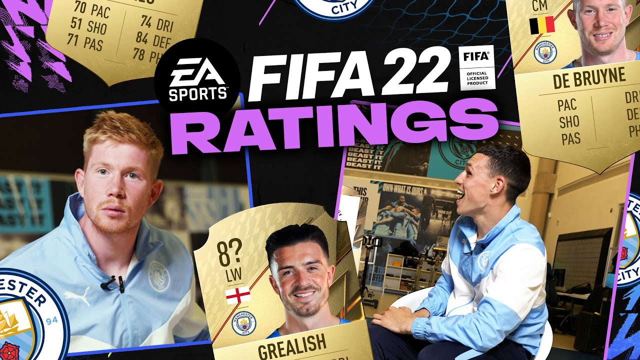 PlayTube Sports: Zina is not faster than me! | FIFA22 Ratings! | KDB & FODEN