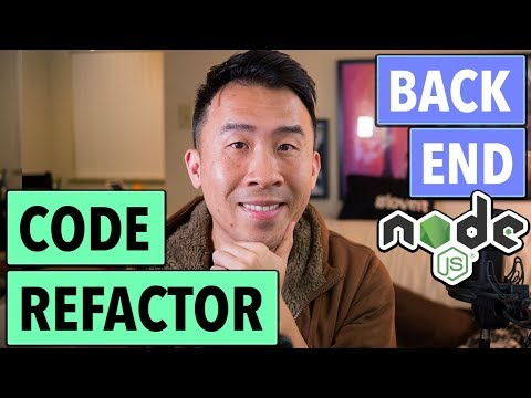 NodeJS REST: How to Refactor Code into Multiple Files with Router (Ep 4)