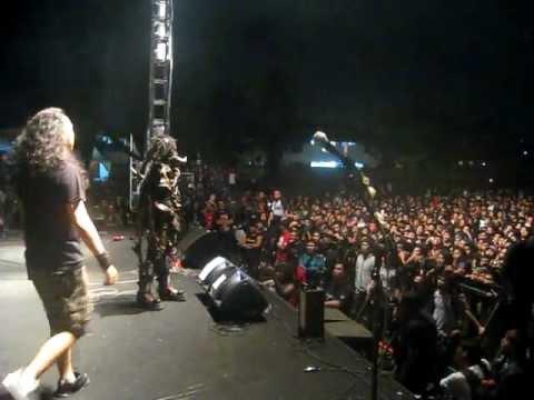DAJJAL - Tanah Live at Back to Underground 2 Bandung (23 Oct 2011)