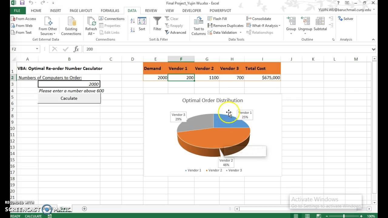 Excel Solver in VBA