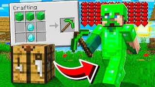 CRAFTING Emerald ARMOR and WEAPONS!