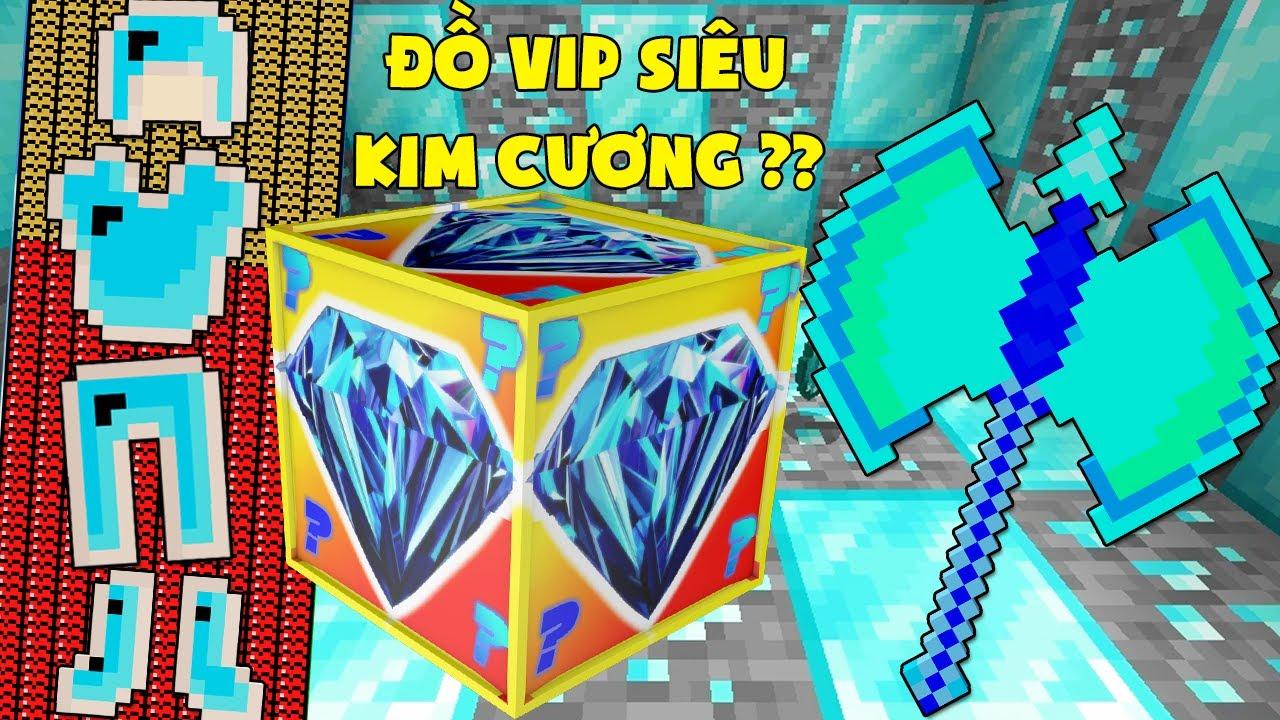 MINI GAME : DIAMOND LUCKY BLOCK BEDWARS ** THỬ THÁCH T GAMING CÓ ĐỒ SIÊU KIM CƯƠNG ??