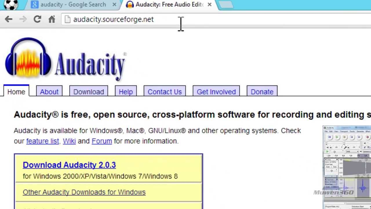 Image result for audacity download windows