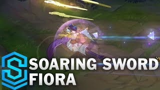 Soaring Sword Fiora Skin Spotlight - Pre-Release - League of Legends
