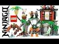 LEGO® Ninjago™ 70604 Tiger Widow Island w/ Nya Cole Sensei Wu Sqiffy & Dogshank Speed Build