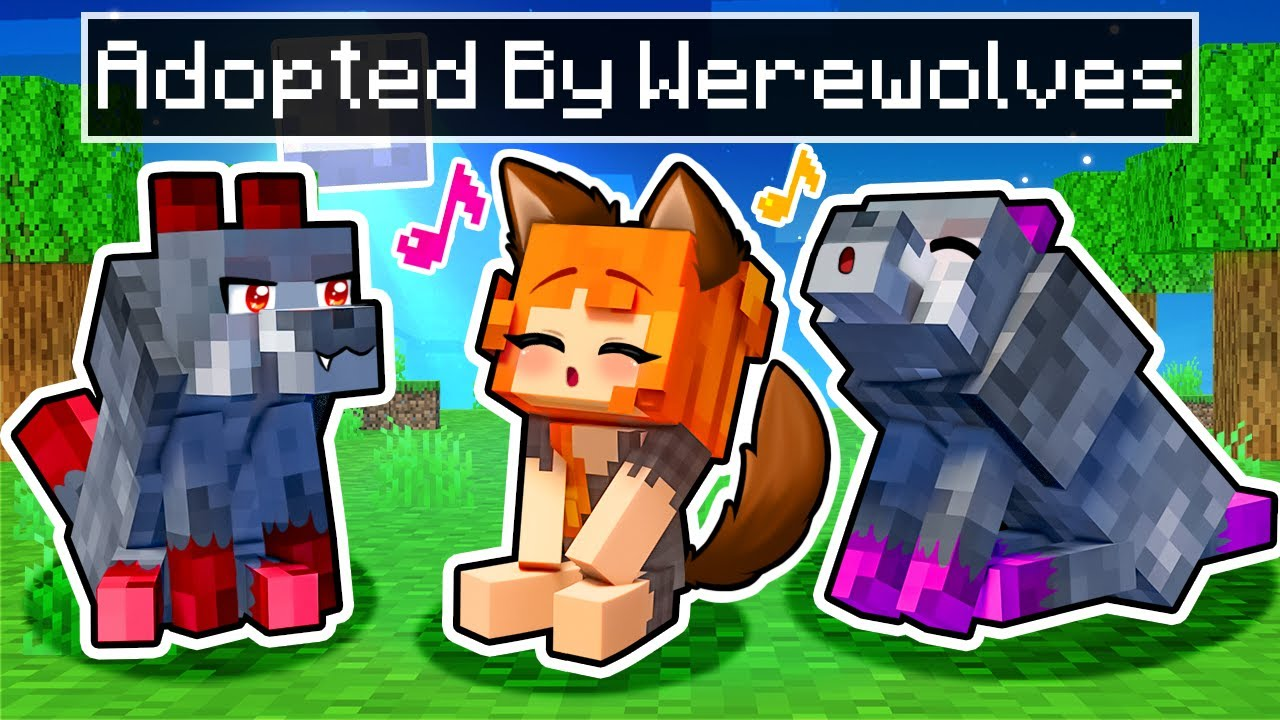 Download Adopted by the ALPHA WEREWOLF in Minecraft!
