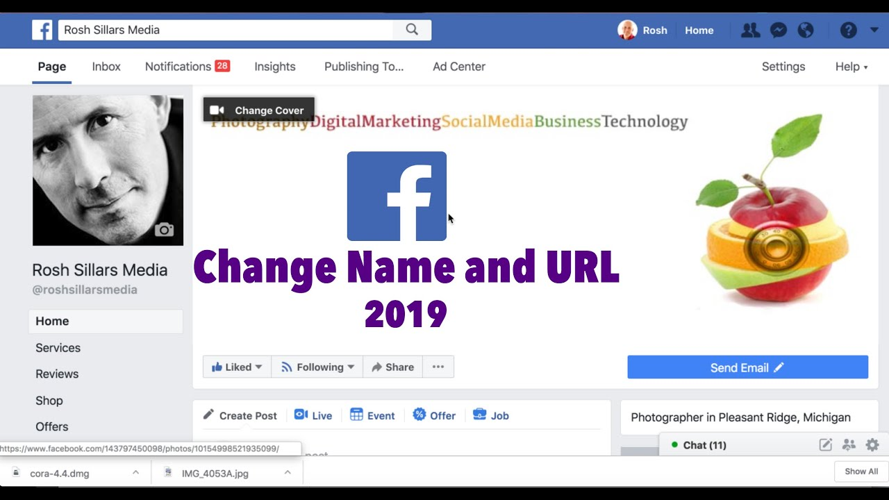 How To Change Your Facebook Business Page Name 2019