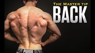 """The Back Workout """"Master Tip"""" (EVERY EXERCISE!)"""